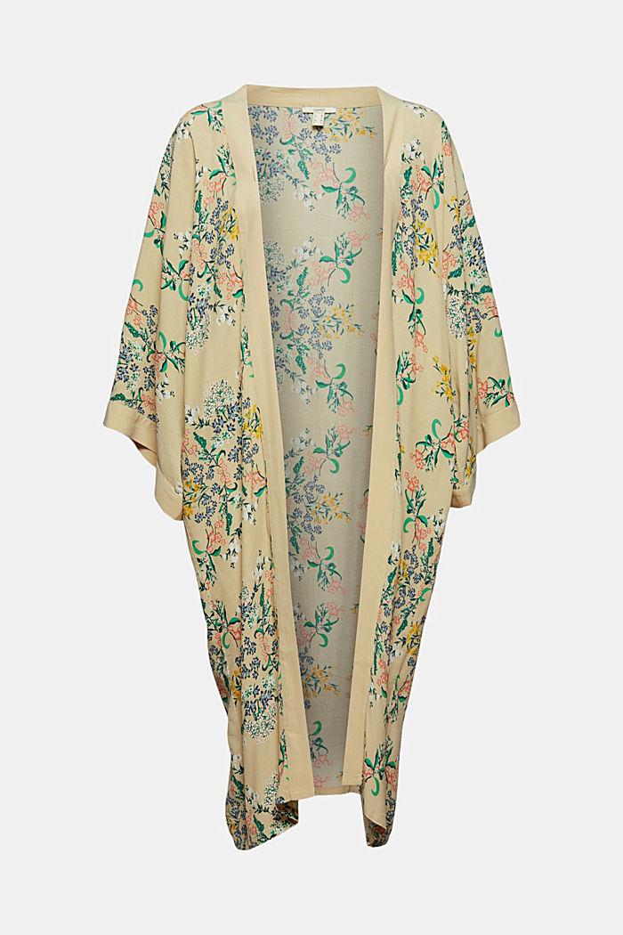 Long kimono with LENZING™ ECOVERO™