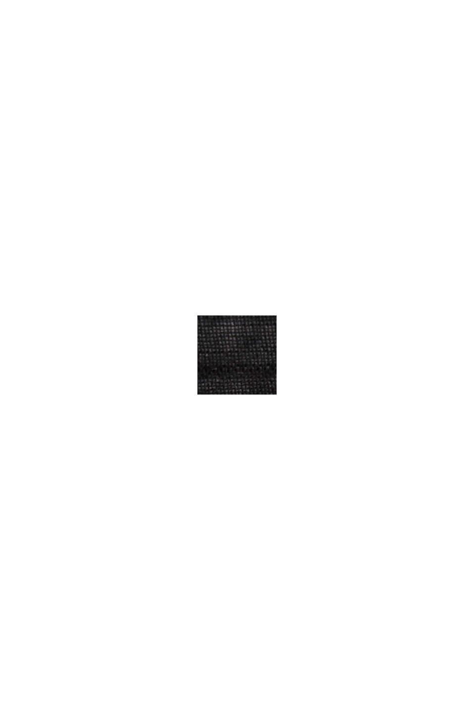 Cafetan orné de ruches, LENZING™ ECOVERO™, BLACK, swatch
