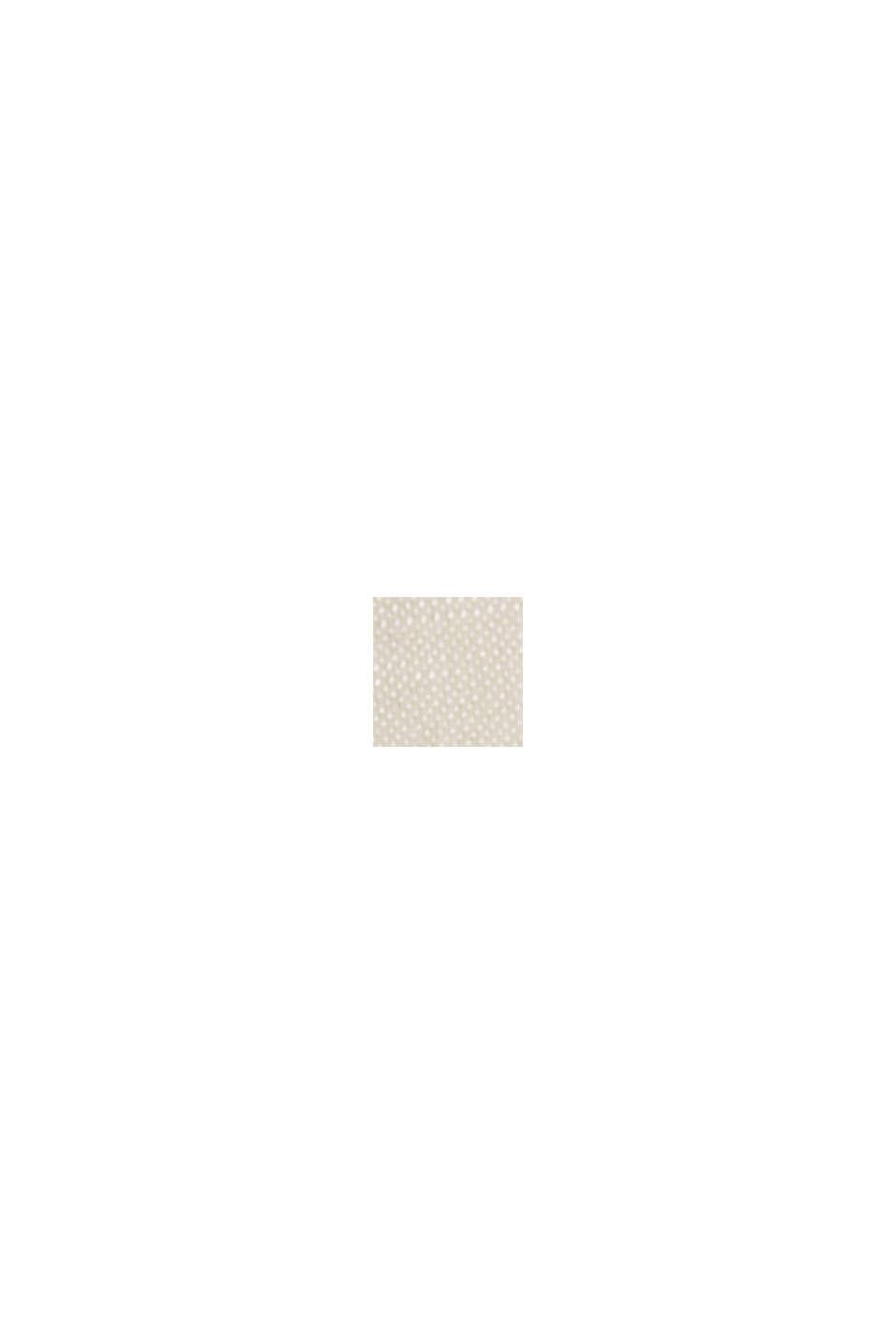 Cafetan orné de ruches, LENZING™ ECOVERO™, SAND, swatch