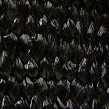 Elastischer Webgürtel mit Lederschnalle, BLACK, swatch