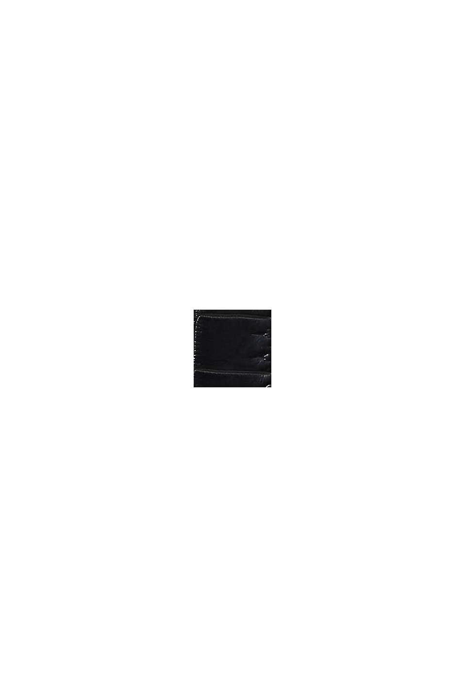 Petit portefeuille monogramme en similicuir, BLACK, swatch
