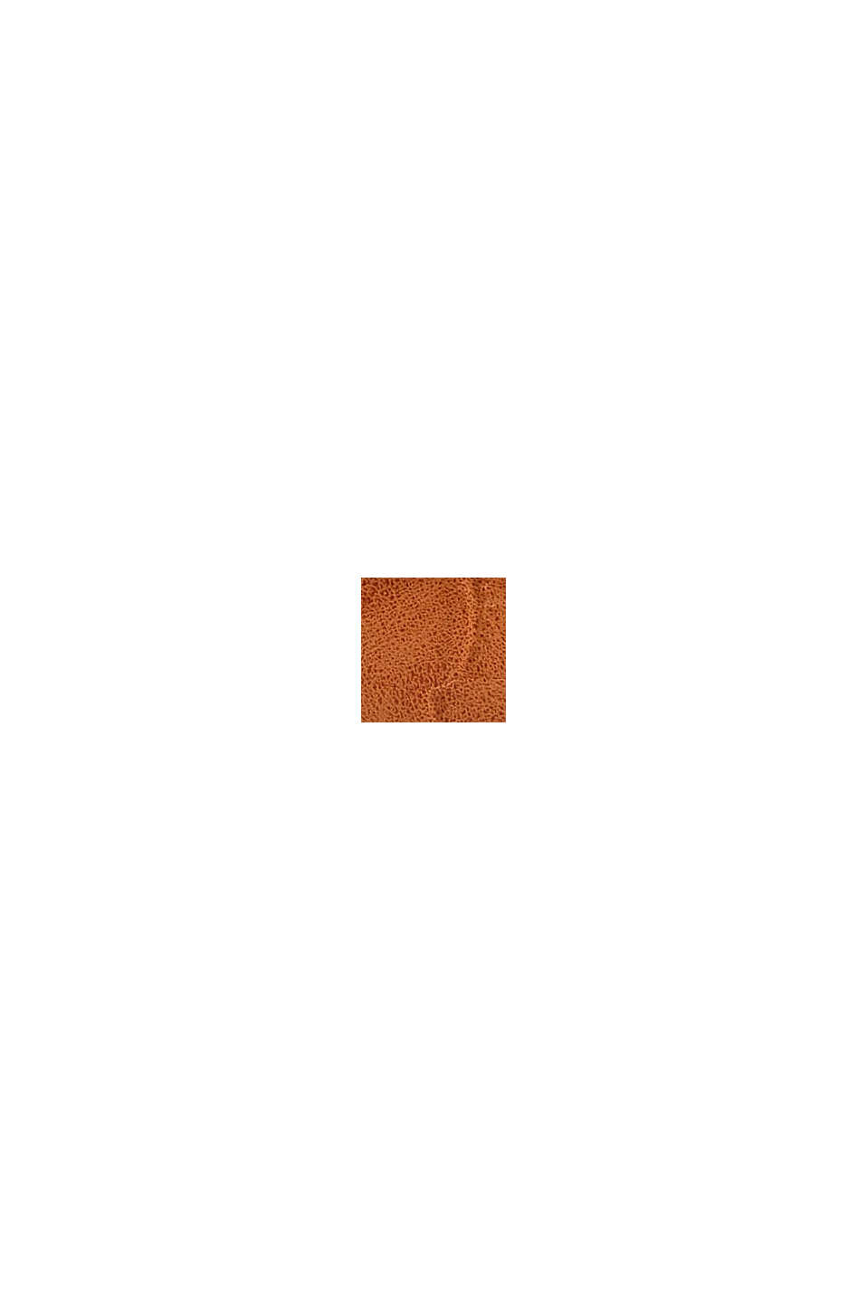 Petit portefeuille monogramme en similicuir, CARAMEL, swatch