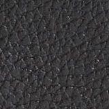 Kleine portemonnee van leer, BLACK, swatch
