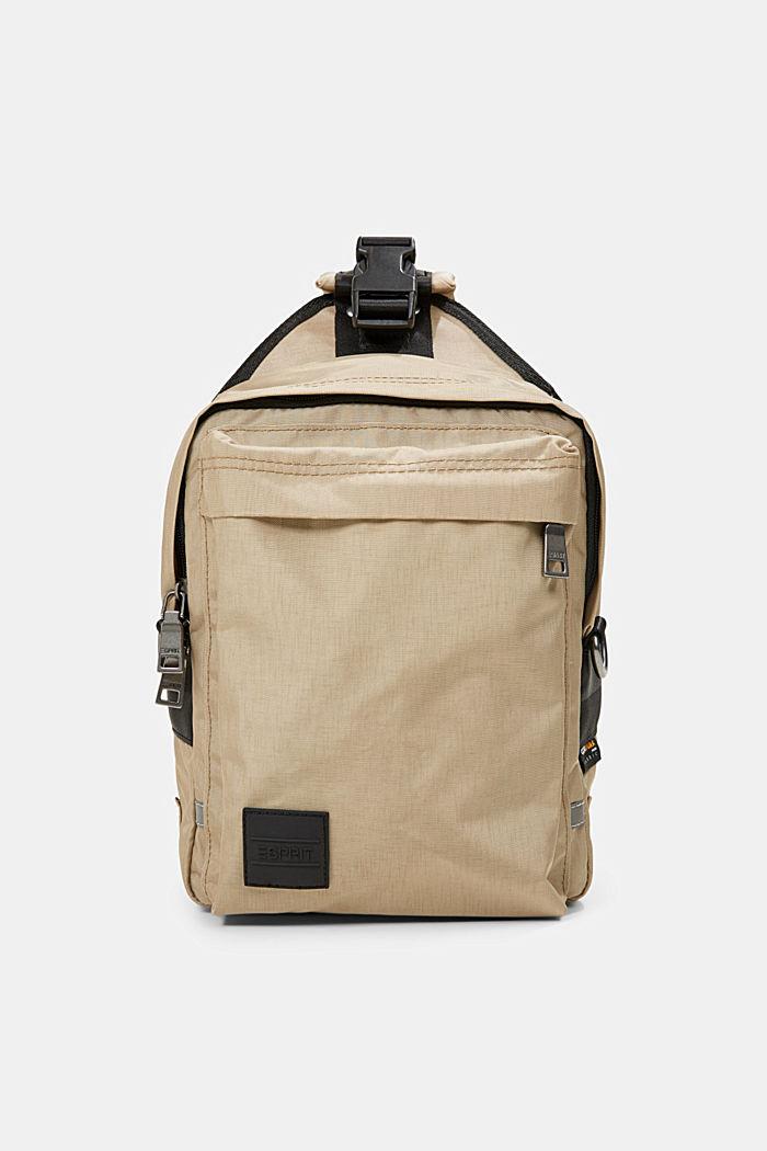 #ReimagineFlexibility: Sling backpack, BEIGE, detail image number 0