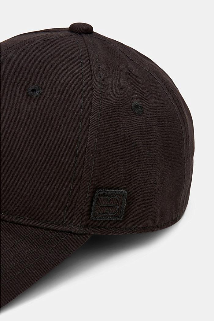 Gorra de béisbol en algodón, BLACK, detail image number 1