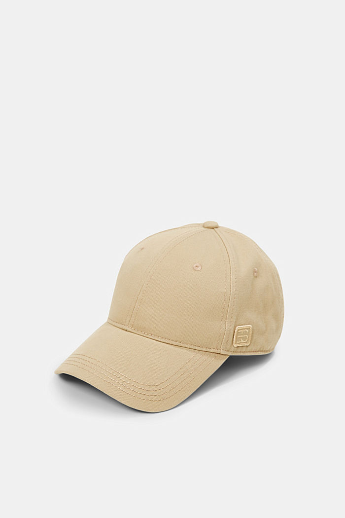 Cotton baseball cap, CAMEL, detail image number 0