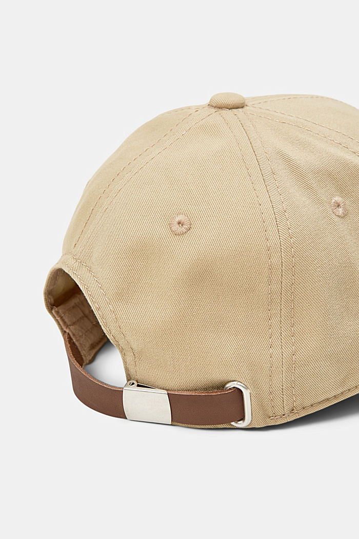 Cotton baseball cap, CAMEL, detail image number 1