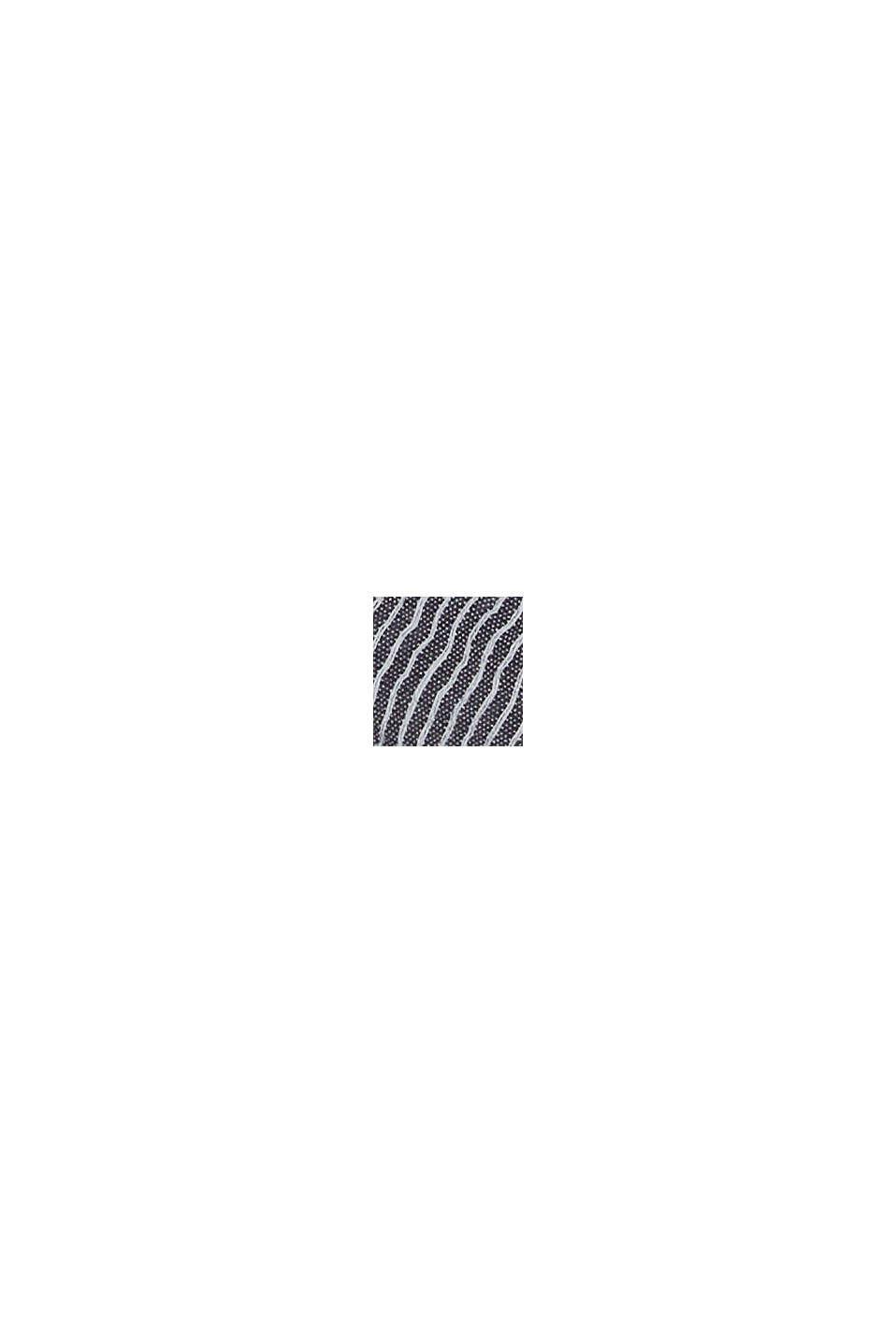 Pellavaa: ohutraitainen huivi, BLACK, swatch