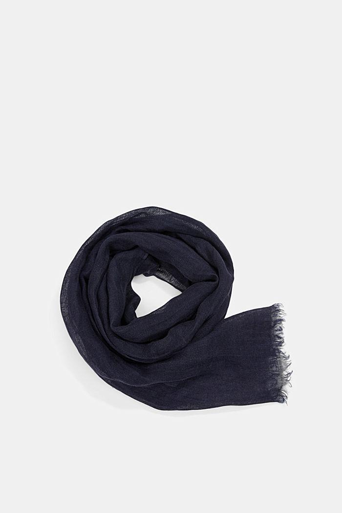 #ReimagineNaturalLifestyle: Schal aus Bio-Leinen