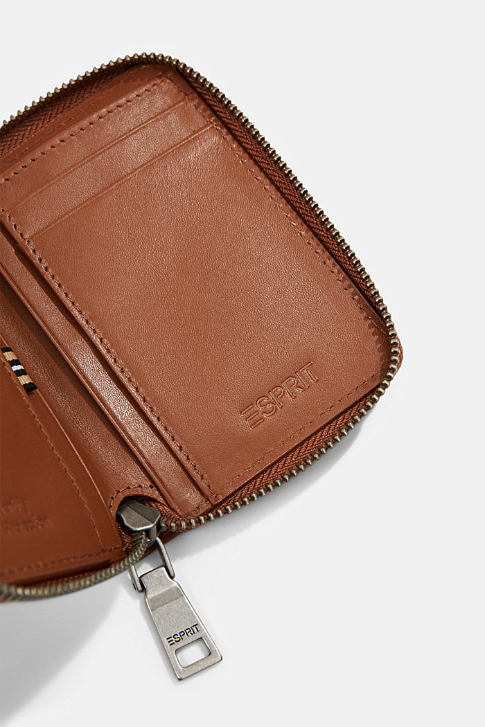 Wallet made of 100% chrome-free tanned leather