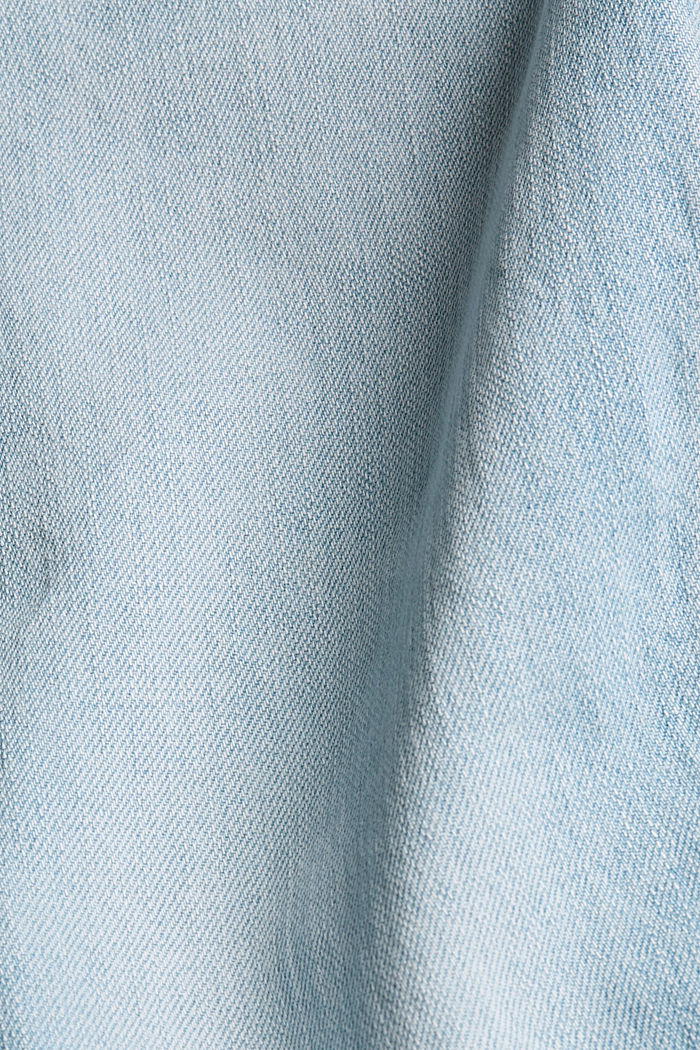 Stretch jeans containing organic cotton, BLUE BLEACHED, detail image number 4
