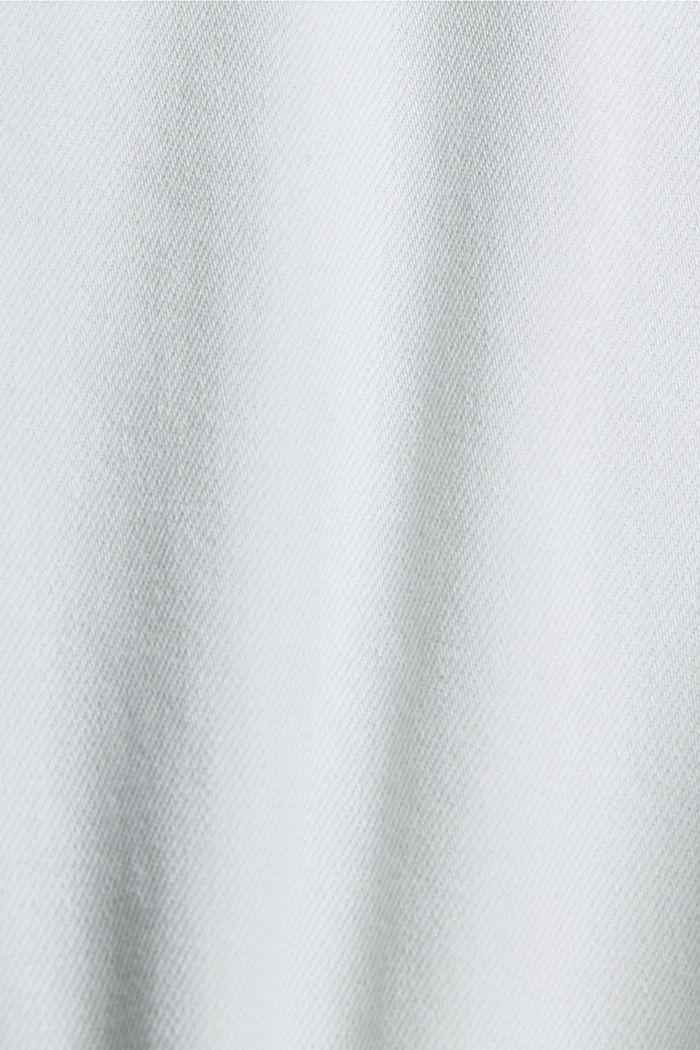 Jeans-Culotte aus 100% Organic Cotton, BLUE BLEACHED, detail image number 4