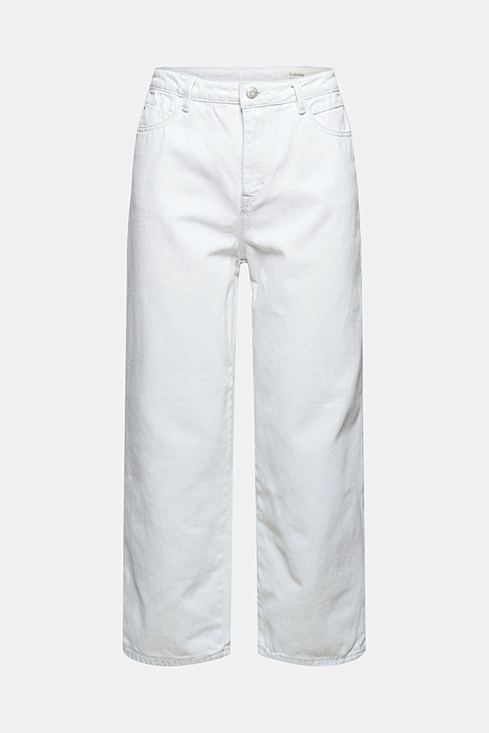 Denim culottes made of 100% organic cotton