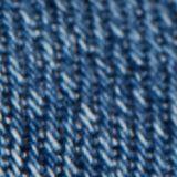 Jean court, 100% coton bio, BLUE MEDIUM WASHED, swatch