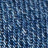 Cropped jeans van 100% biologisch katoen, BLUE MEDIUM WASHED, swatch