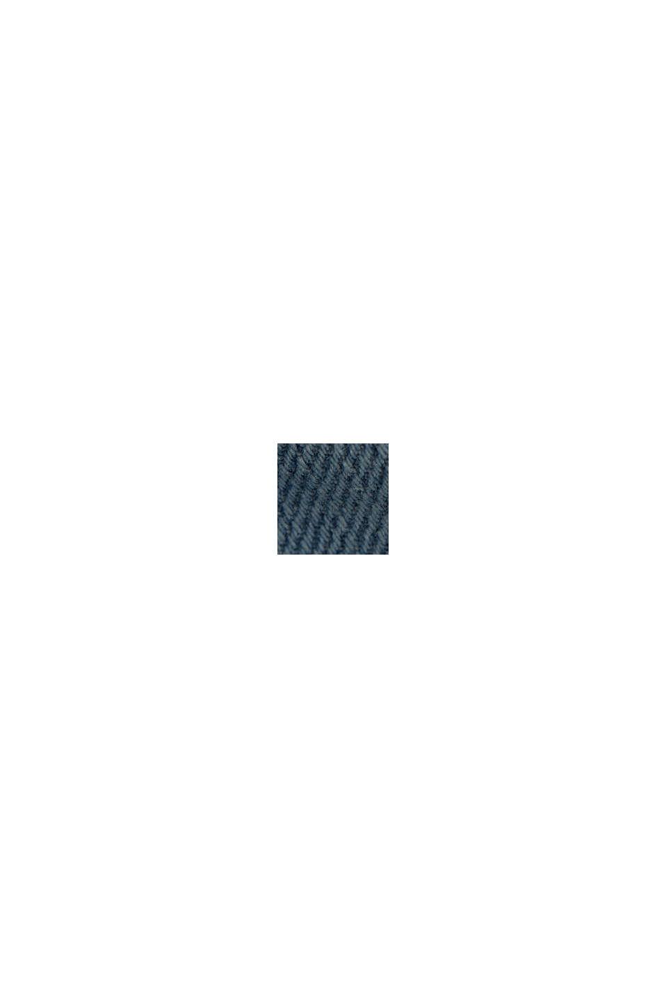 Vaqueros cortos en 100% algodón ecológico, BLUE LIGHT WASHED, swatch