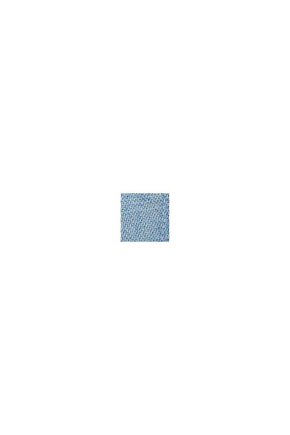 En TENCEL™: pantalón deportivo con acabado vaquero, BLUE BLEACHED, swatch