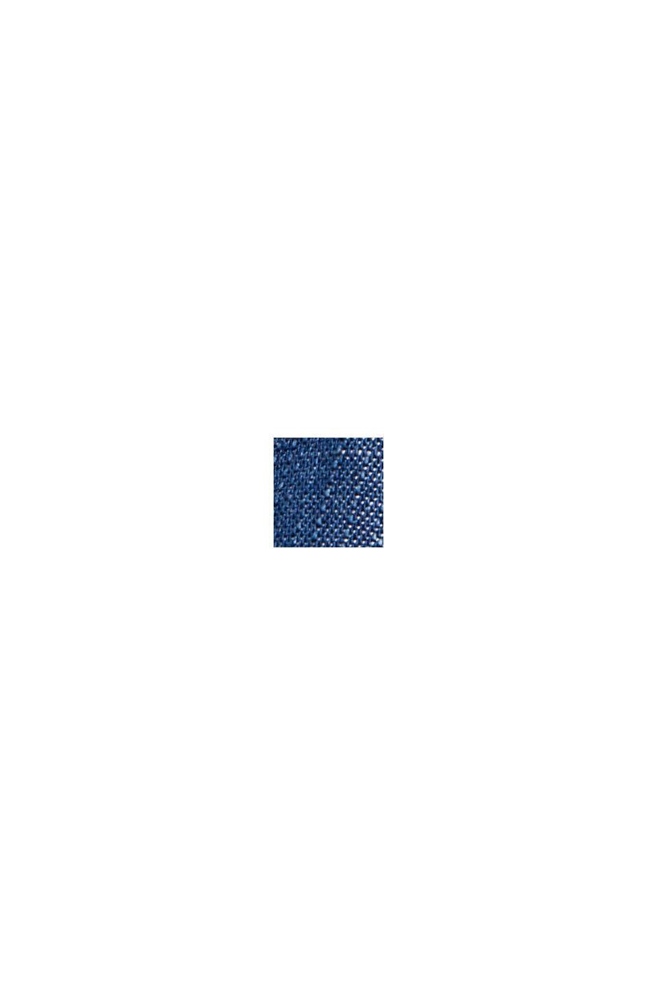 En TENCEL™: pantalón con perneras anchas, BLUE DARK WASHED, swatch