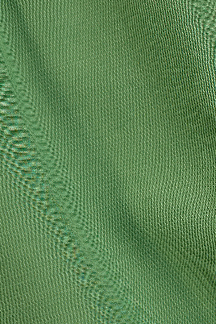 Palazzo trousers containing LENZING™ ECOVERO™, LEAF GREEN, detail image number 4
