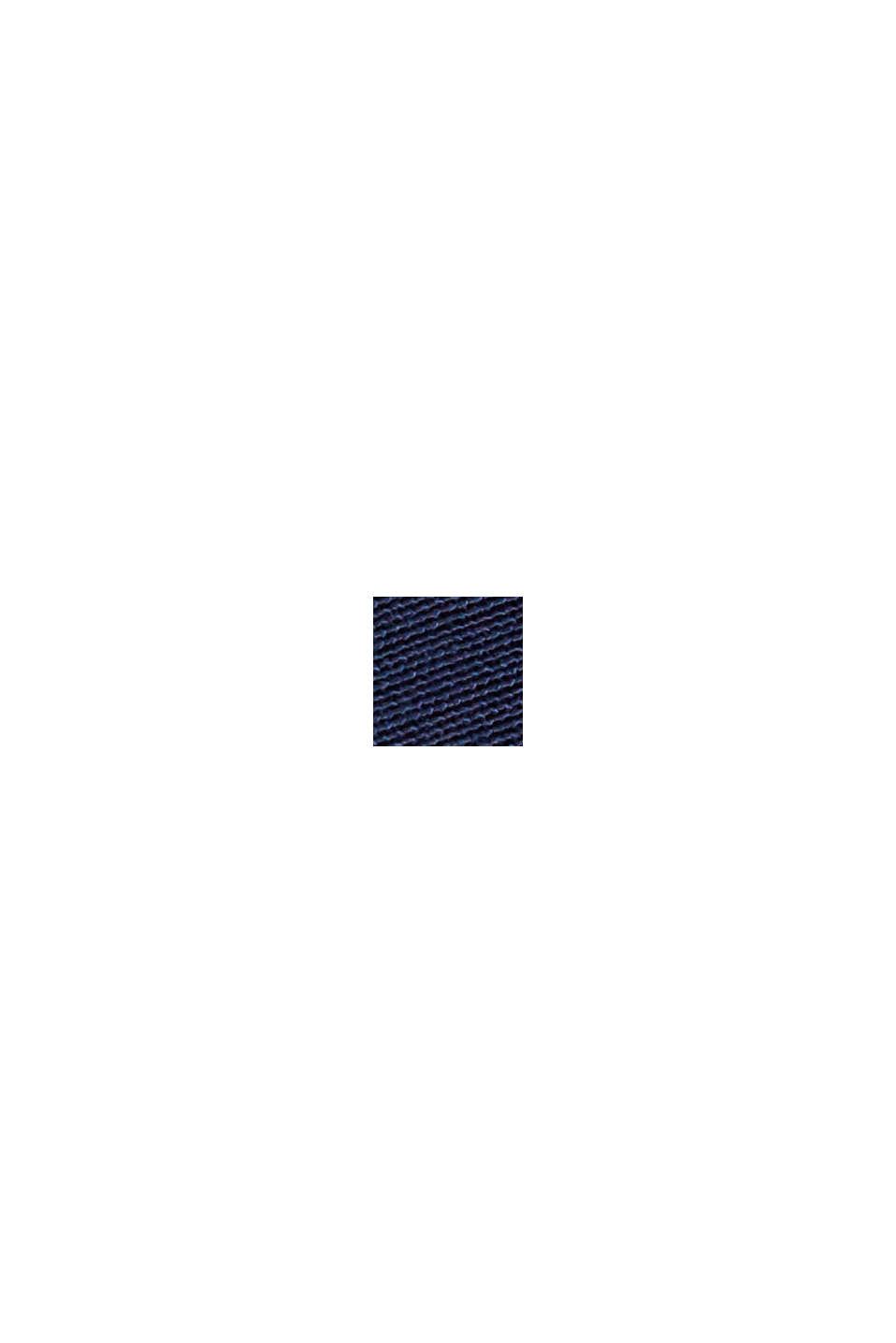 Palazzo trousers containing LENZING™ ECOVERO™, NAVY, swatch