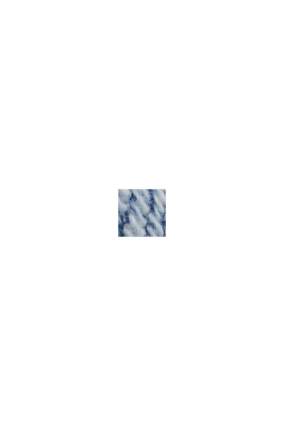 Stretch-Jeans aus Organic Cotton, BLUE BLEACHED, swatch