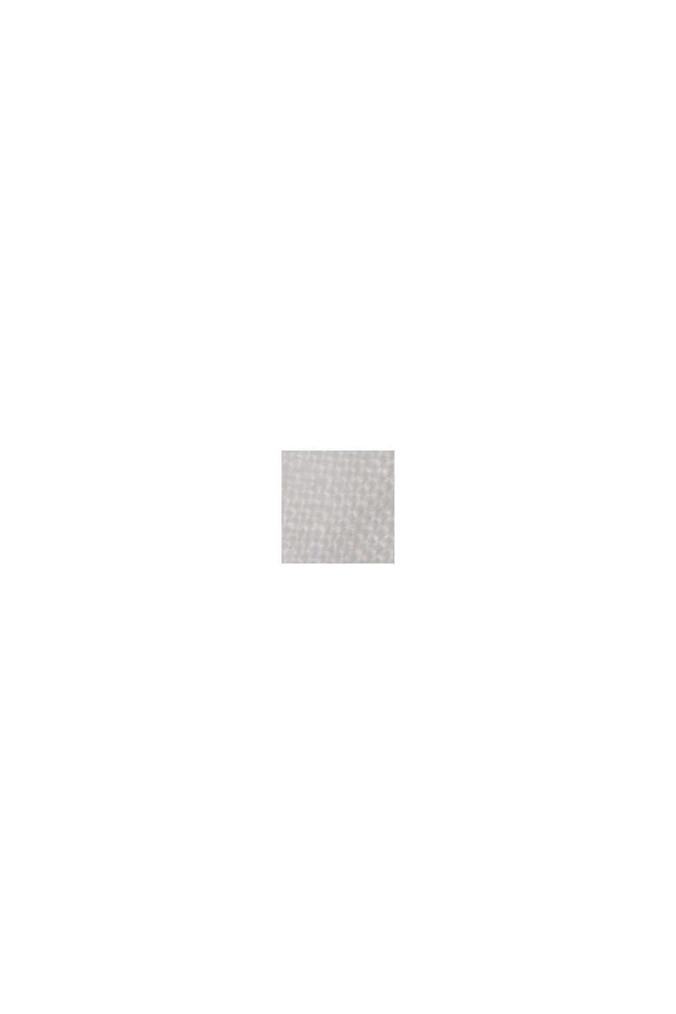 Aus 100% Leinen: Culotte mit elastischem Bund, OFF WHITE, swatch