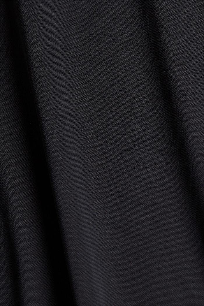 Aus Modal-Mix: fließende Culotte, BLACK, detail image number 4