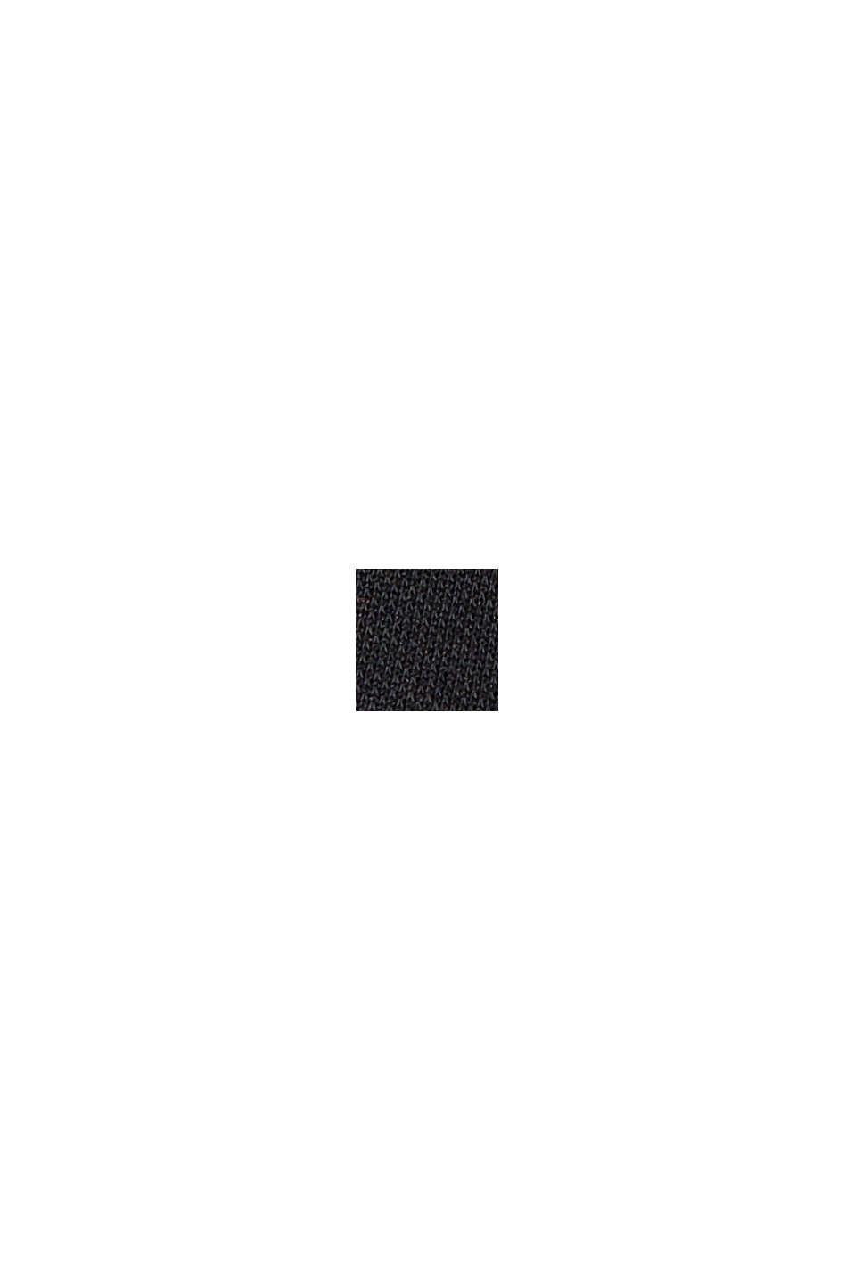 I modalmix: culottebyxa med mjukt fall, BLACK, swatch
