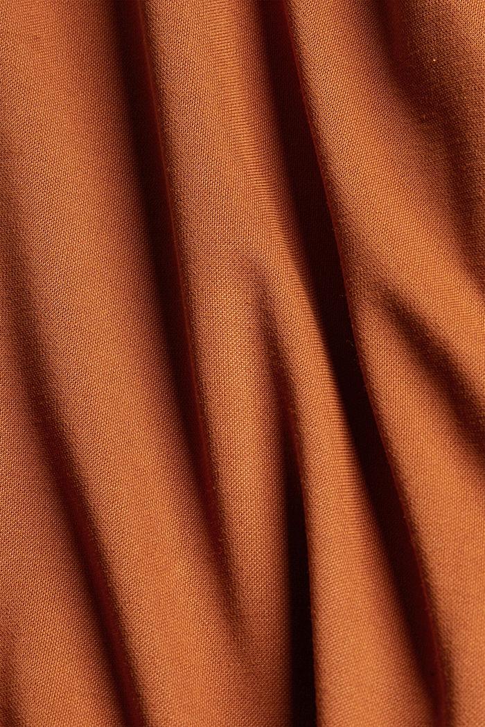 Modal blend: flowy culottes, CARAMEL, detail image number 4