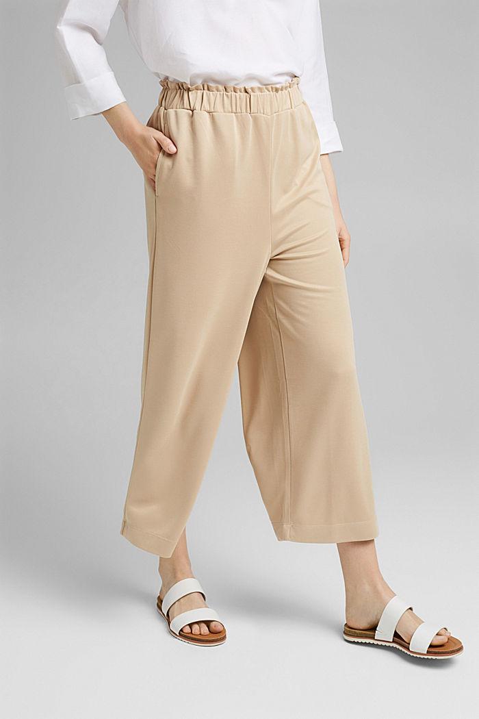 Modal blend: flowy culottes, SAND, detail image number 0