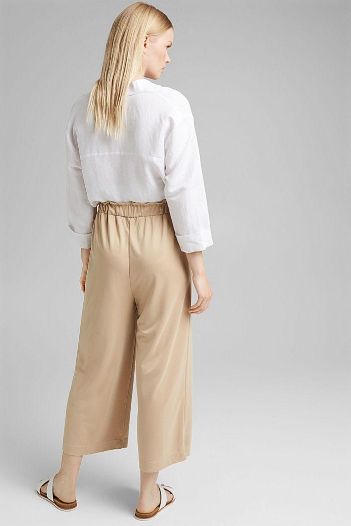 Modal blend: flowy culottes, SAND, detail image number 3