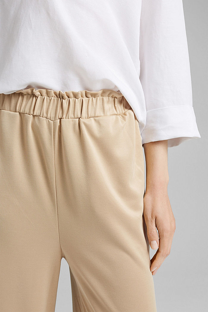 Modal blend: flowy culottes, SAND, detail image number 2