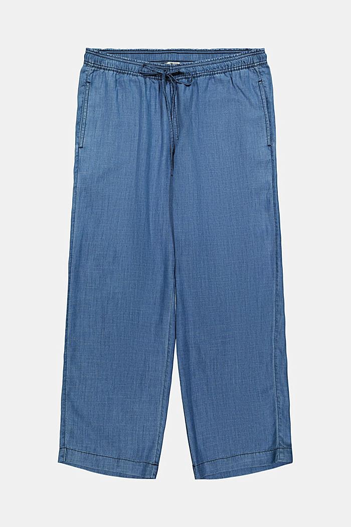 CURVY TENCEL™: Jogg-Hose im Jeanslook