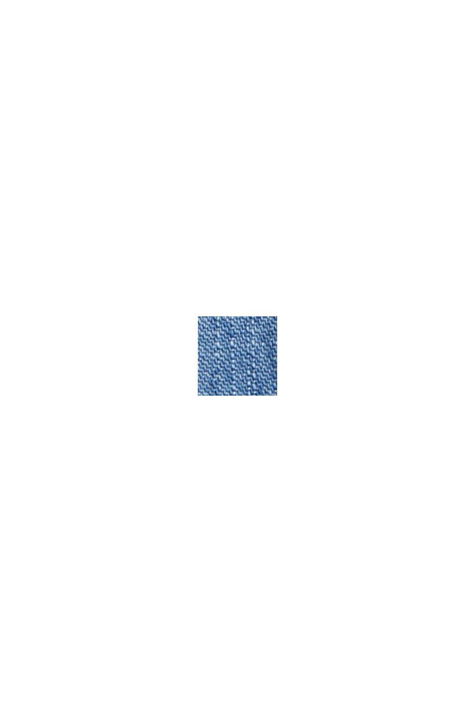 CURVY TENCEL™: pantalón deportivo con acabado vaquero, BLUE MEDIUM WASHED, swatch