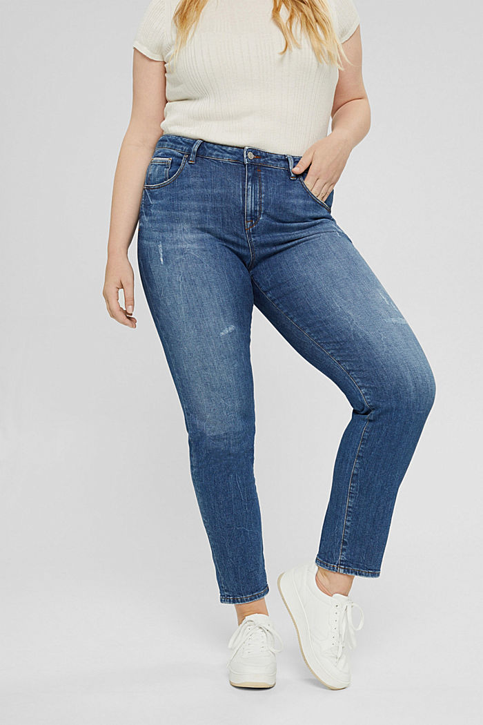 CURVY stretch jeans in organic cotton
