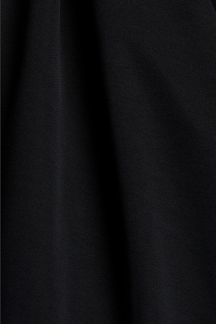 CURVY Modal-Mix: fließende Culotte, BLACK, detail image number 4