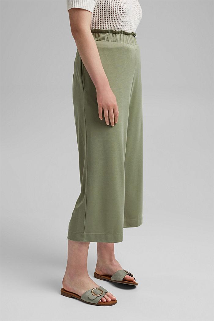 CURVY modal blend: flowy culottes