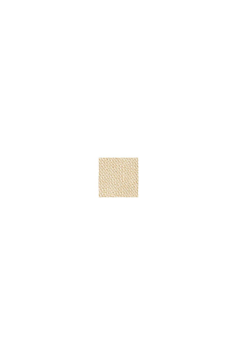 CURVY Leinen: Culotte mit elastischem Bund, SAND, swatch