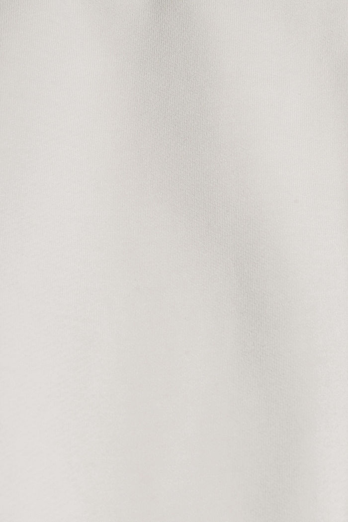 Pantalon de jogging à jambes larges, 100% coton, OFF WHITE, detail image number 4