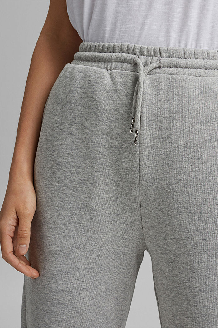 Tracksuit bottoms in 100% cotton, LIGHT GREY, detail image number 2