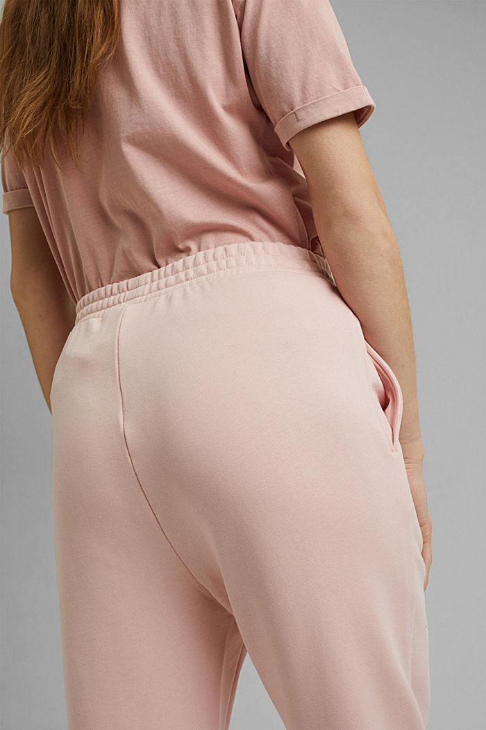 Tracksuit bottoms in 100% cotton, NUDE, detail image number 2