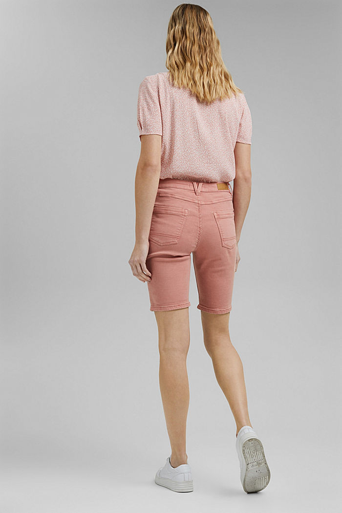 Jogger shorts made with organic cotton, NUDE, detail image number 3