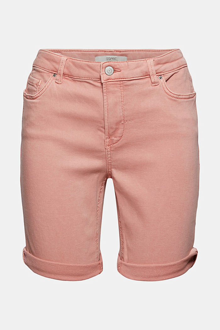 Jogger shorts made with organic cotton, NUDE, detail image number 6