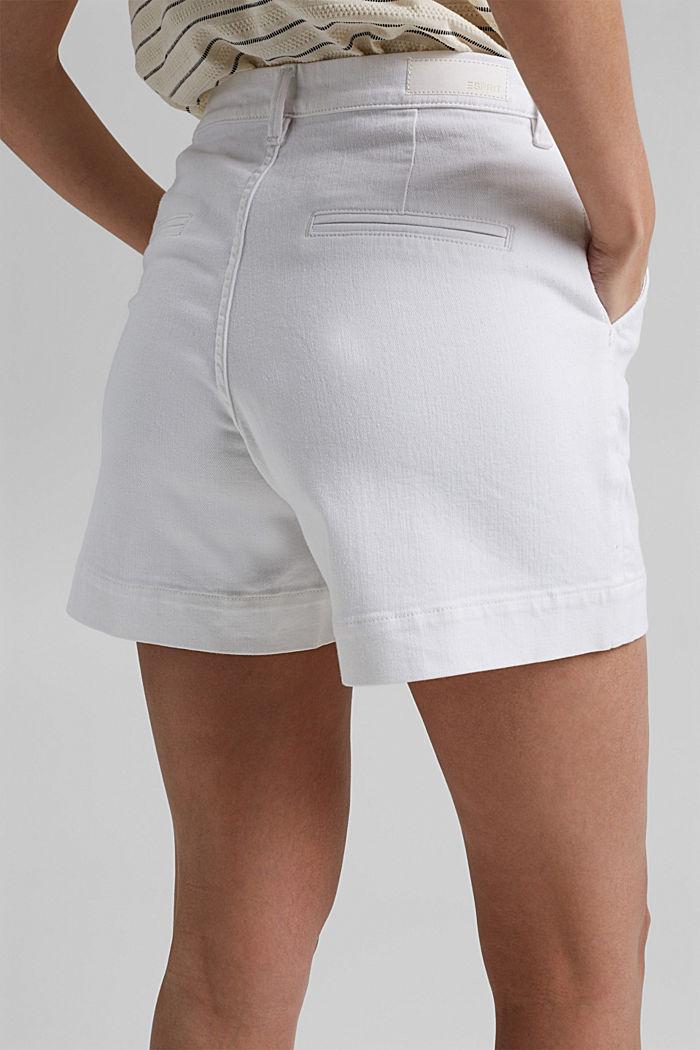 Short en jean à teneur en coton biologique, WHITE, detail image number 2