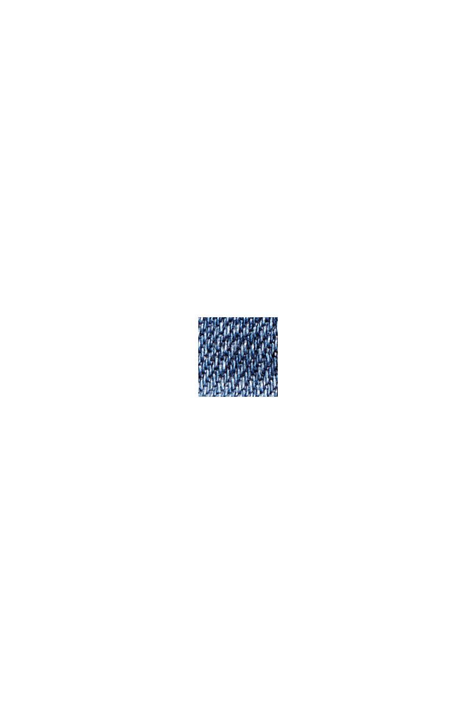 Farkkushortsit, sis. luomupuuvillaa, BLUE DARK WASHED, swatch