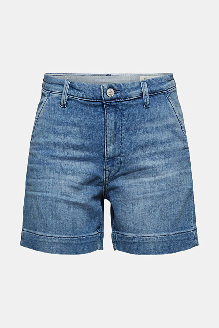 Jeans-Shorts mit Organic Cotton