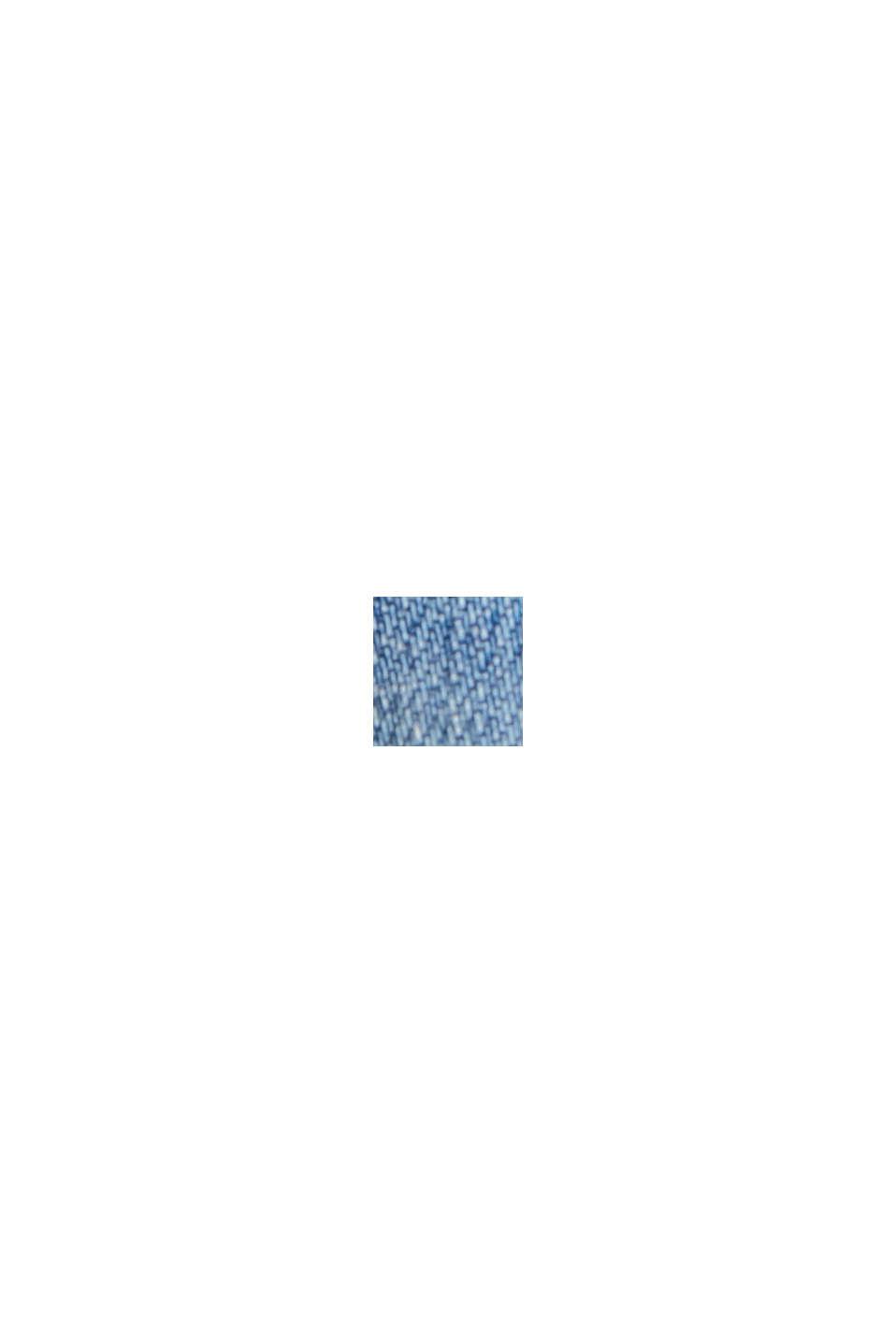 Farkkushortsit, sis. luomupuuvillaa, BLUE LIGHT WASHED, swatch