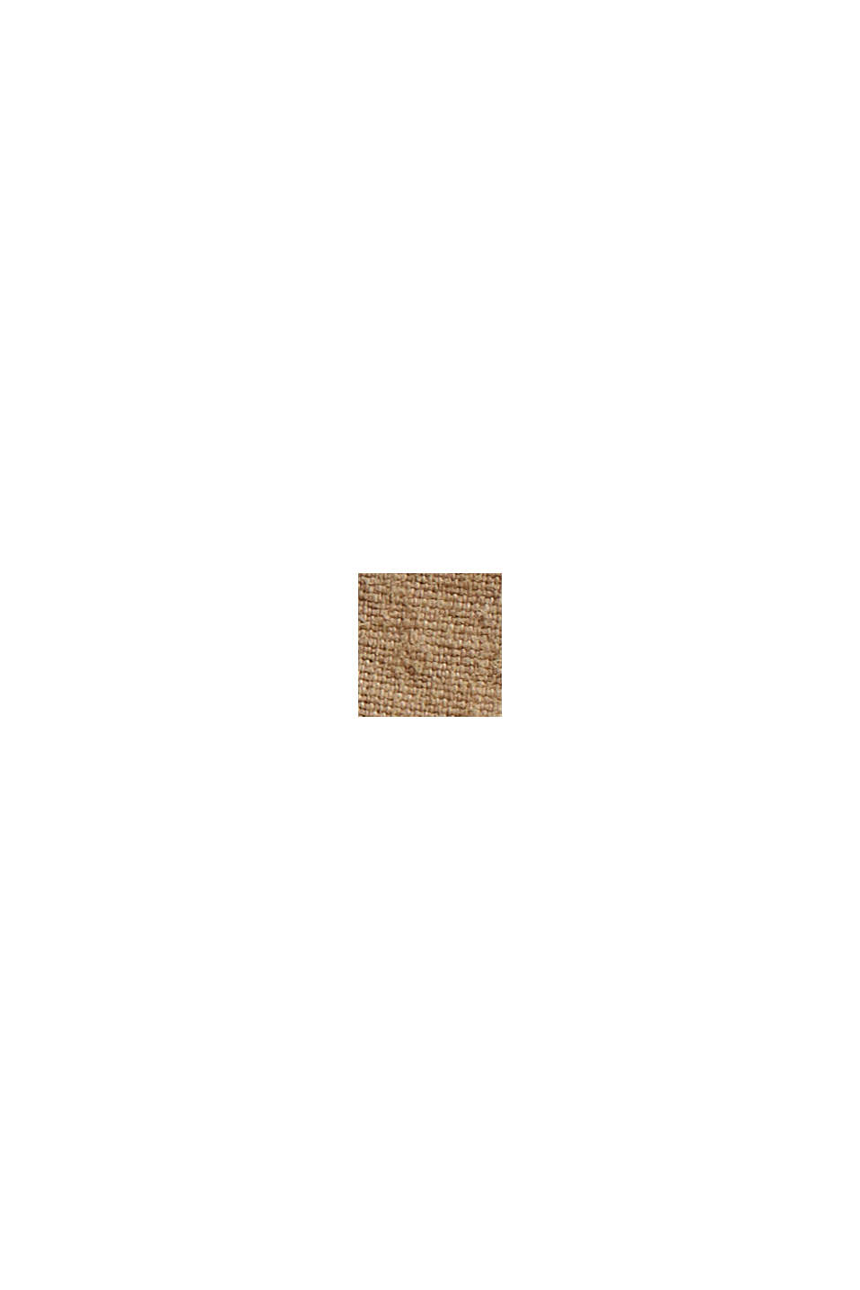 Hampamix: Shorts med paperbag-linning, SAND, swatch
