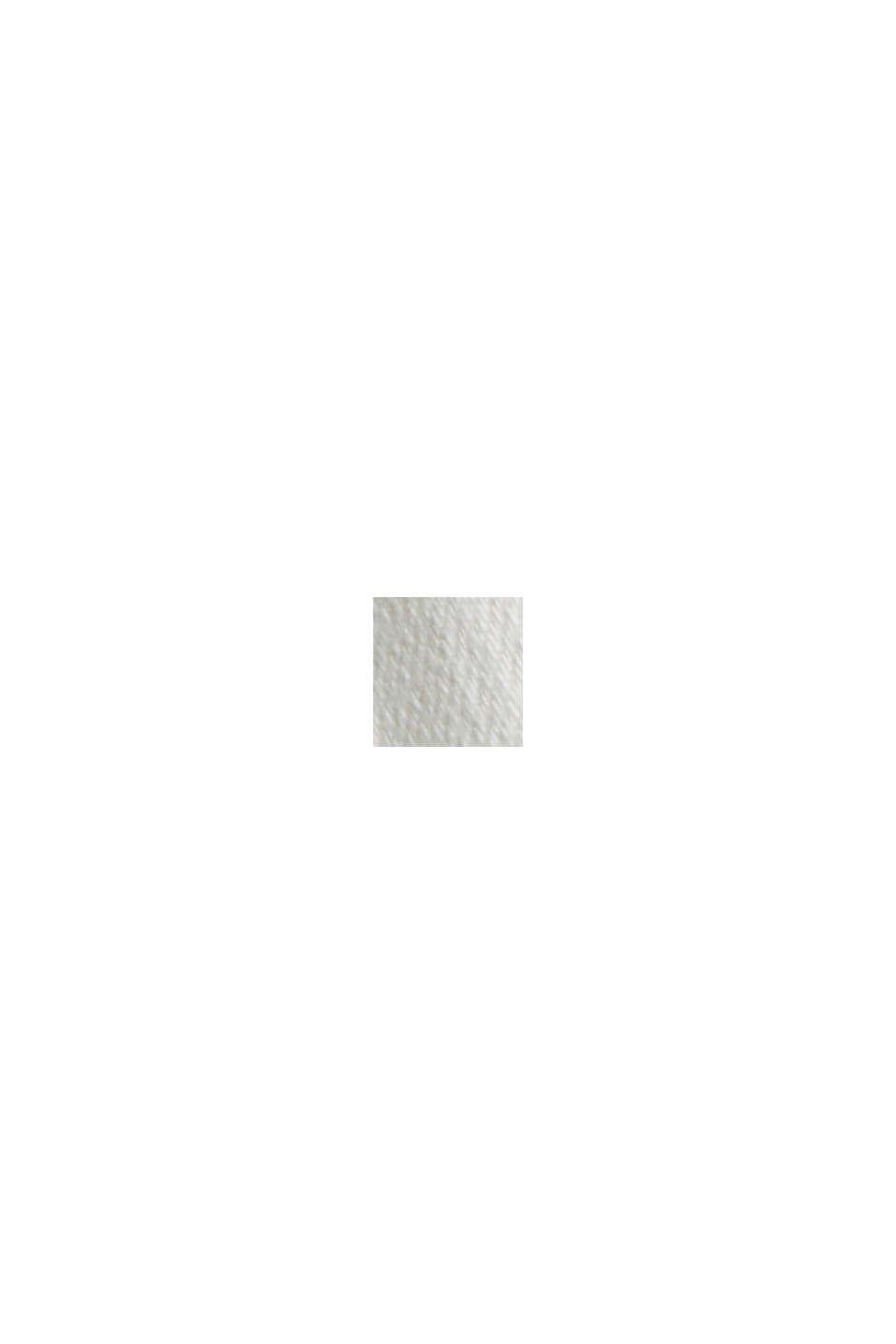 Bermuda shorts made of organic cotton, OFF WHITE, swatch