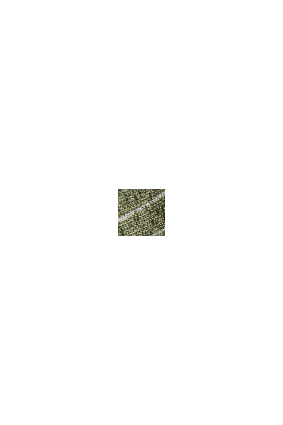 Jerseynederdel i maxilængde med print, LIGHT KHAKI, swatch